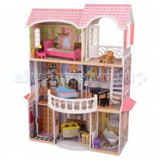 KidKraft Винтажный кукольный дом для Барби Магноли