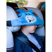 Клювонос Фиксатор головы ребенка для автокресла с дополнительным креплением Бегемот