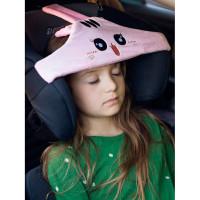 Клювонос Фиксатор головы ребенка для автокресла с дополнительным креплением Кошка