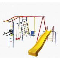 КМС Детский комплекс Игромания-5 Фитнесс дачный с горкой КМС-425