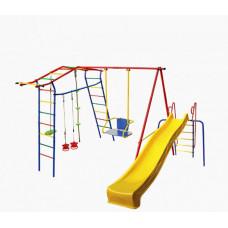 КМС Детский комплекс Игромания дачный с горкой КМС-420