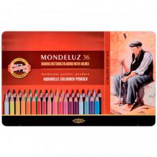 Koh-i-Noor Набор карандашей акварельных Mondeluz 36 цветов