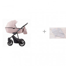 Коляска Aroteam Belino 2 в 1 с комплектом AmaroBaby Mommy Star Радуга
