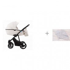 Коляска Aroteam Belino Prima 2 в 1 с комплектом AmaroBaby Mommy Star Радуга