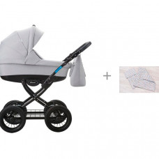 Коляска Aroteam Cocoline 18 2 в 1 с комплектом AmaroBaby Mommy Star Радуга