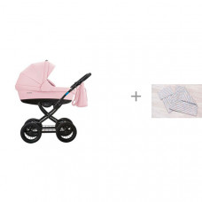 Коляска Aroteam Cocoline 18 Prima 2 в 1 с комплектом AmaroBaby Mommy Star Радуга