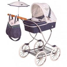 Коляска для куклы DeCuevas с сумкой и зонтиком Топ-коллекшн 90 см