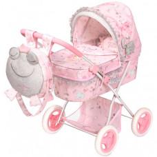 Коляска для куклы DeCuevas складная с рюкзаком Мария 60 см
