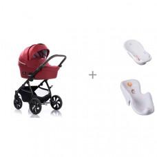Коляска Tutis Aero 2 в 1 с ванной и креслом в ванну Tega Baby Лесная Сказка