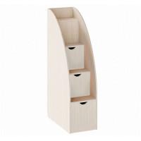 Комод РВ-Мебель лестница (дуб молочный)