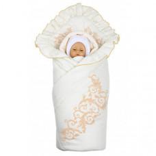 Комплект на выписку Babyglory Ажур зима (3 предмета)