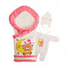 Комплект на выписку Babyglory Соня лето (4 предмета)