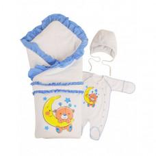 Комплект на выписку Babyglory Соня весна-осень (4 предмета)