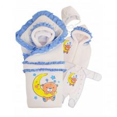 Комплект на выписку Babyglory Соня зима (6 предметов)