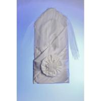 Комплект на выписку Осьминожка с вуалью Розы К109 (5 предметов)