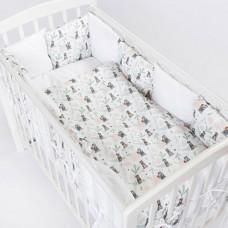 Комплект в кроватку Akella Маугли (6 предметов)