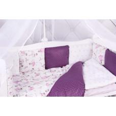 Комплект в кроватку AmaroBaby Амели (15 предметов)