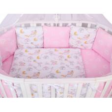 Комплект в кроватку AmaroBaby Мышата в облаках (15 предметов)