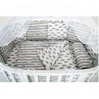 Комплект в кроватку AmaroBaby Premium Радуга (18 предметов)