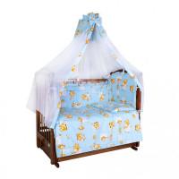 Комплект в кроватку Ангелочки 5710 (7 предметов)