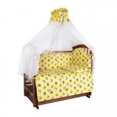 Комплект в кроватку Ангелочки 5711 (7 предметов)