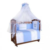 Комплект в кроватку Ангелочки Лошадка (7 предметов)