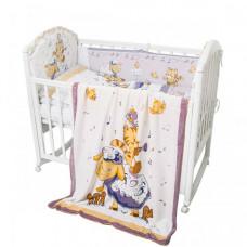 Комплект в кроватку Baby Nice (ОТК) Овечка 6 предметов