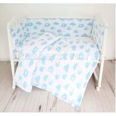 Комплект в кроватку Baby Nice (ОТК) Споки ноки Облака (6 предметов)