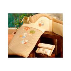 Комплект в кроватку BabyPiu Biba - комплект: бортик, одеяльце