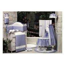 Комплект в кроватку BabyPiu Нежность 4 времени года в чемодане (6 предметов)