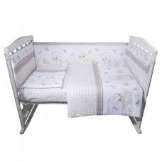 Комплект в кроватку BamBola Цыплята (4 предмета)