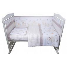 Комплект в кроватку BamBola Цыплята (6 предметов)