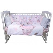 Комплект в кроватку BamBola Слонечка (6 предметов)