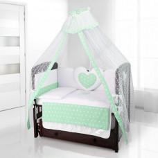 Комплект в кроватку Beatrice Bambini Cuore Stella (6 предметов)