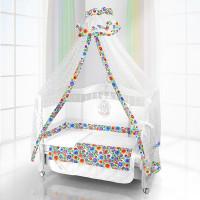 Комплект в кроватку Beatrice Bambini Unico Bambola 120х60 (6 предметов)