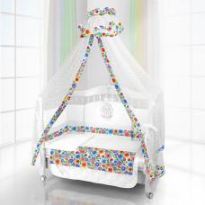 Комплект в кроватку Beatrice Bambini Unico Bambola 125х65 (6 предметов)