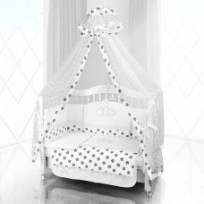 Комплект в кроватку Beatrice Bambini Unico Grande Stella 125х65 (6 предметов)