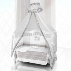 Комплект в кроватку Beatrice Bambini Unico IL Cavallo Nuvole 125х65 (6 предметов)