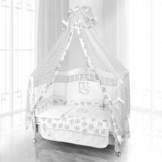 Комплект в кроватку Beatrice Bambini Unico Orso Mamma 125х65 (6 предметов)
