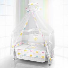 Комплект в кроватку Beatrice Bambini Unico Preferito Fiocco 125х65 (6 предметов)