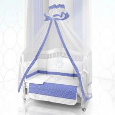 Комплект в кроватку Beatrice Bambini Unico Puntini 125х65 (6 предметов)