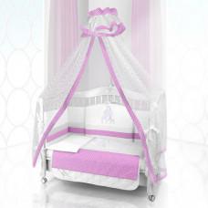 Комплект в кроватку Beatrice Bambini Unico Punto Di Giraffa 125х65 (6 предметов)