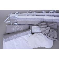 Комплект в кроватку Chepe Нежность (6 предметов)