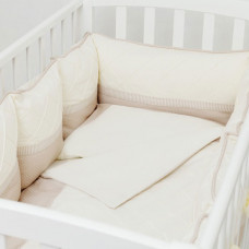 Комплект в кроватку Colibri&Lilly Cappuccino Pillow (6 предметов)