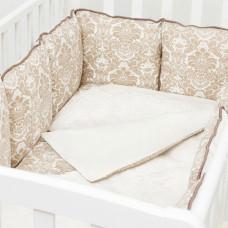 Комплект в кроватку Colibri&Lilly Damask (4 предмета)