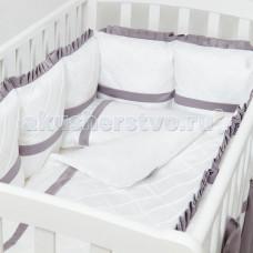 Комплект в кроватку Colibri&Lilly Graphite (4 предмета)