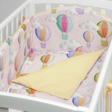Комплект в кроватку Colibri&Lilly Journey in Clouds (4 предмета)