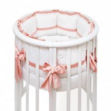 Комплект в кроватку Colibri&Lilly Mademoiselle Round (5 предметов)