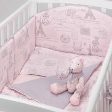 Комплект в кроватку Colibri&Lilly Paris (6 предметов)