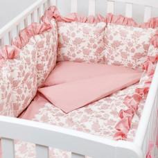 Комплект в кроватку Colibri&Lilly Royal Rose (6 предметов)